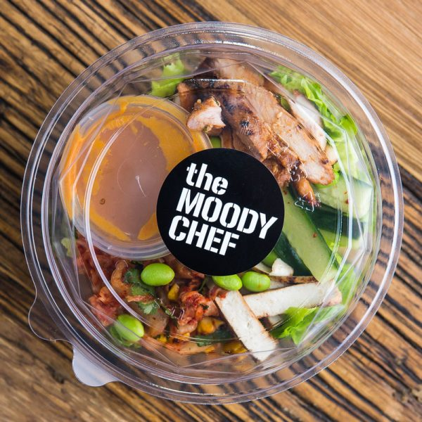 the moody chef catering chicken salad