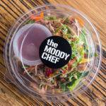 the moody chef catering pork salad
