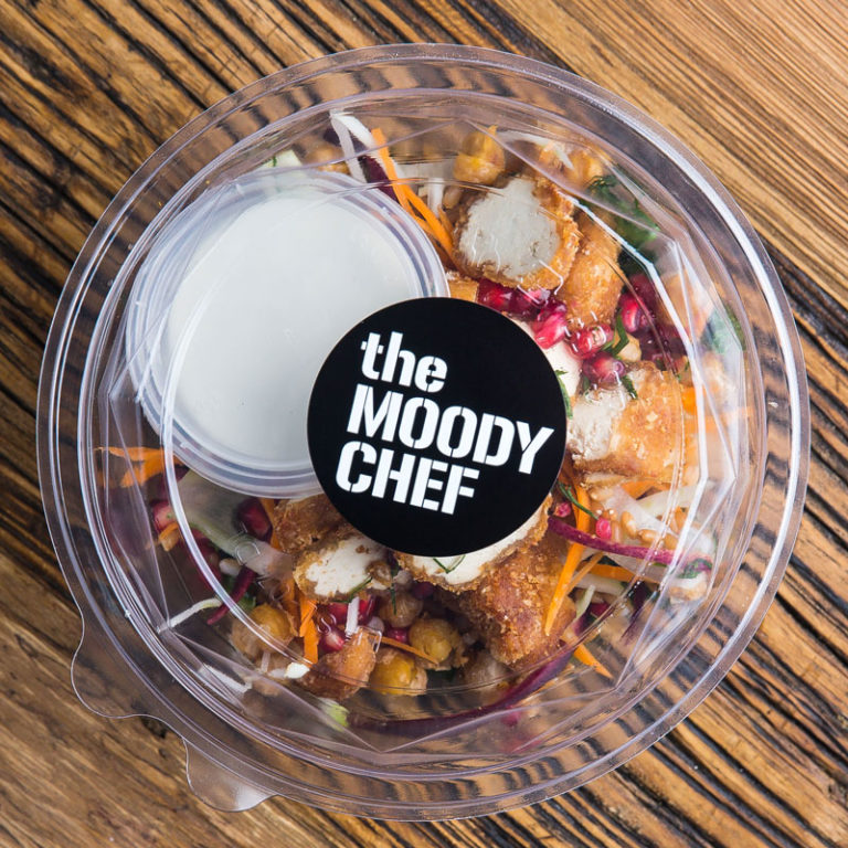 the moody chef catering crocket salad