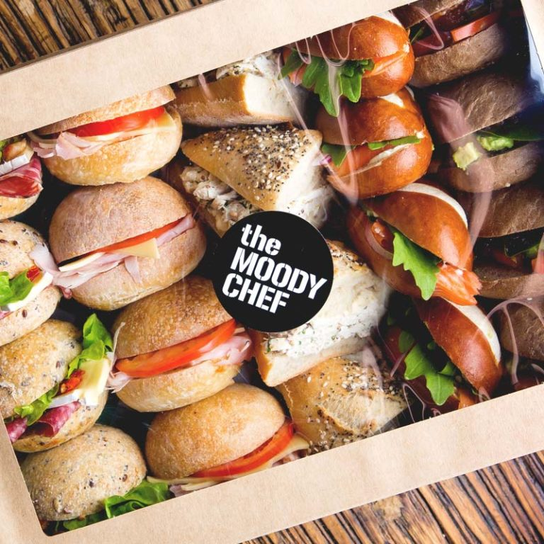 the moody chef catering mini panini box