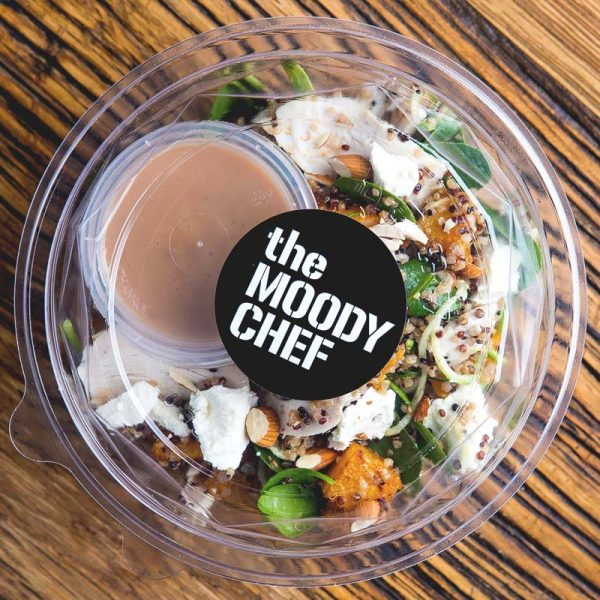 the moody chef catering salad