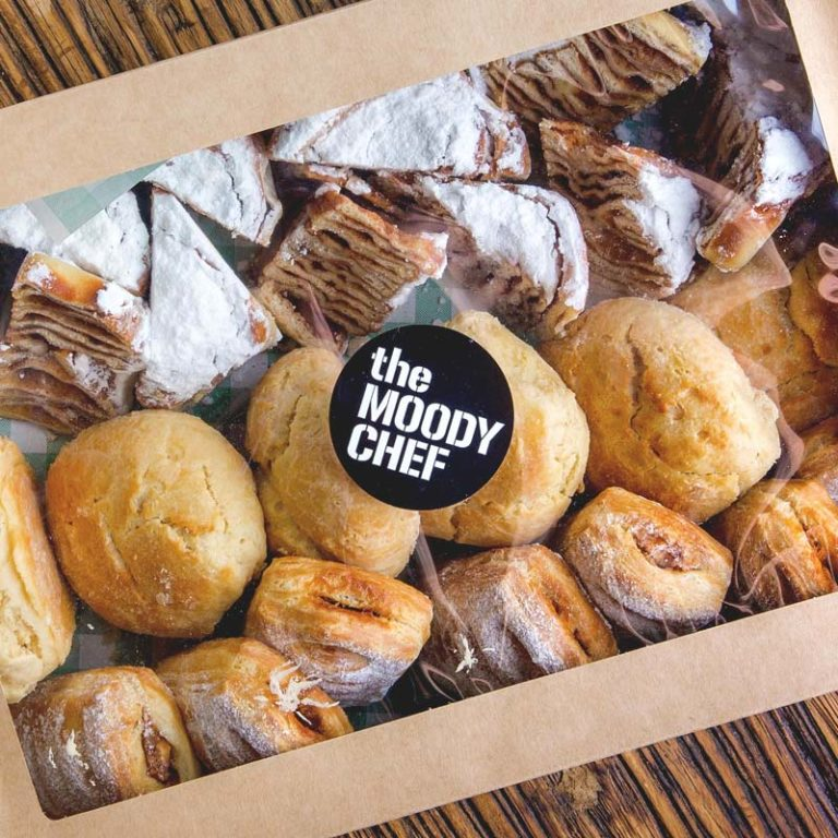 the moody chef catering sweet bakery box