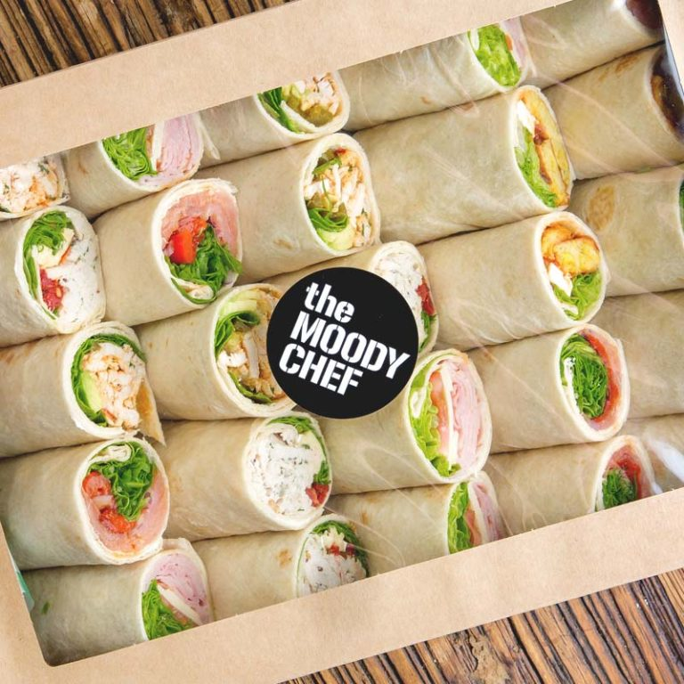 the moody chef catering wrap box