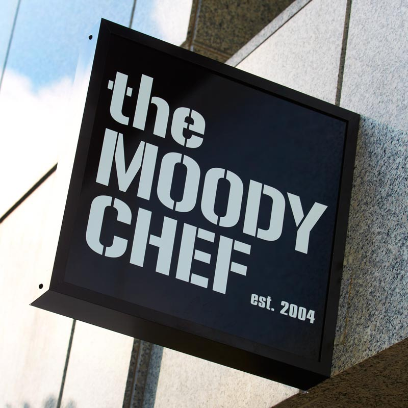 the moody chef logo